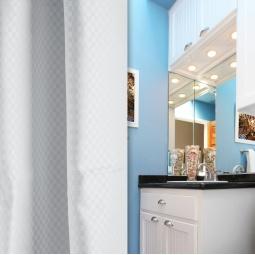 Купить Штора для ванной White Fox WBCH10-300 Excellent Satin