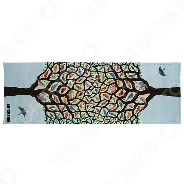 Обложка для студенческого билета Mitya Veselkov Дерево с птичками это полезный и стильный аксессуар. С такой обложкой документ не порвется и не запачкается. А еще оригинальный внешний вид и безукоризненное исполнение подчеркнут индивидуальный стиль владельца. Обложка сделана из ПВХ, поэтому она достаточно проста и долговечна. Этот материал не подвержен истиранию и не пропускает влагу.