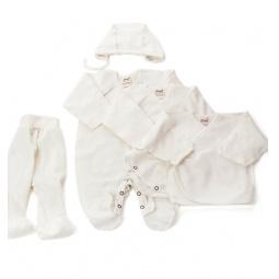 Купить Комплект подарочный для новорожденных Ёмаё 29-01. Цвет: белый