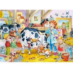 Купить Пазл 60 элементов Castorland «Ветеринар на ферме»