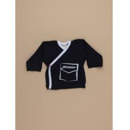 фото Распашонка для новорожденных Ёмаё 23-01. Цвет: синий. Размер: 40