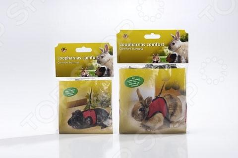 Шлейка-жилетка с поводком для грызунов Beeztees Rodent dogger шлейка жилетка 3
