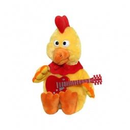 Купить Мягкая игрушка интерактивная Музыкальные подарки «Петушок-золотой гребешок»