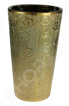 Ваза декоративная 14624Вазы<br>Ваза декоративная 14624 это симпатичная керамическая ваза, которая украсит любой интерьер. Ваза представляет собой не просто подставку для цветов, а настоящее произведение искусства. Она сочетает в себе изысканный дизайн и максимальную функциональность, поможет вам подчеркнуть дизайн помещения, сделать акцент или украсить пустое пространство на полке. Такая ваза будет удачно смотреться как в прихожей, так и в гостиной или спальне. А может вы решили украсить дачу или загородный дом Попробуйте разнообразить интерьер с помощью ваз, в которые можно сразу поставить свежие цветы! Дача преобразится и заиграет новыми красками! Керамика представляет собой прочный материал, который издавна считался одним из лучших для изготовления ваз. Керамика умеет регулировать температуру и накапливать влагу, поэтому ваши цветы не будут страдать от резких перепадов температур в знойные дни. При необходимости вазу такого типа легко очистить с помощью мыльной воды, можете использовать мягкую губку. Этот предмет интерьера может стать хорошим подарком для любой женщины.<br>