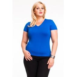 фото Футболка Mondigo XL 056. Цвет: синий. Размер одежды: 48