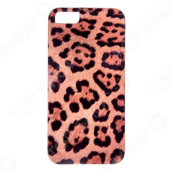 Чехол для iPhone 5 Mitya Veselkov «Леопардовый принт»