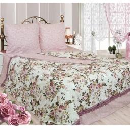 фото Комплект постельного белья Сова и Жаворонок «Розалия». Семейный