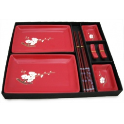 Купить Набор для суши Elan Gallery «Цветок сакуры на красном»