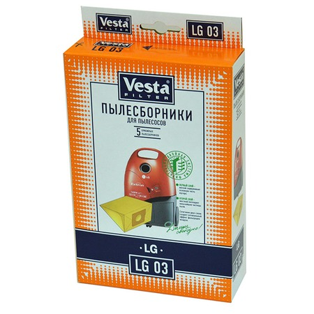 Купить Мешки для пыли Vesta LG 03