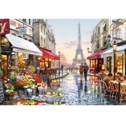 Купить Пазл 1500 элементов Castorland «Цветочный магазин»