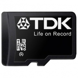 фото Карта памяти TDK microSDHC 4GB class 4 with SD adapter