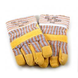Купить Перчатки рабочие кожаные с мехом внутри РОС 12450