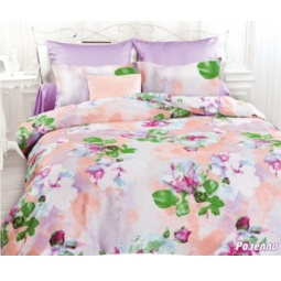 фото Комплект постельного белья Унисон «Розелла». Семейный