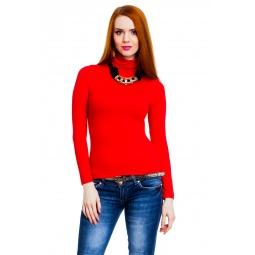 фото Водолазка Mondigo 046. Цвет: красный. Размер одежды: 42