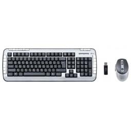 фото Набор беспроводной клавиатура и мышь Kreolz WMKM 3