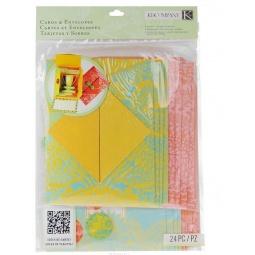 Купить Набор открыток и конвертов K&Company «Складной»