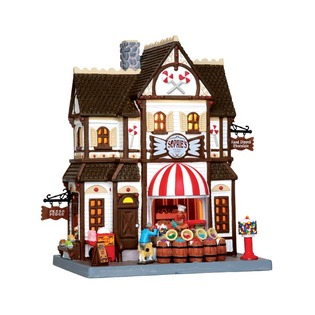 Купить Домик керамический Lemax «Магазин сладкого»