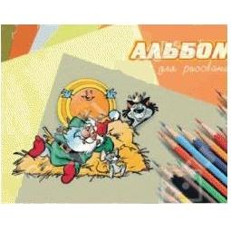 фото Альбом для рисования Ульяновский Дом печати А-070