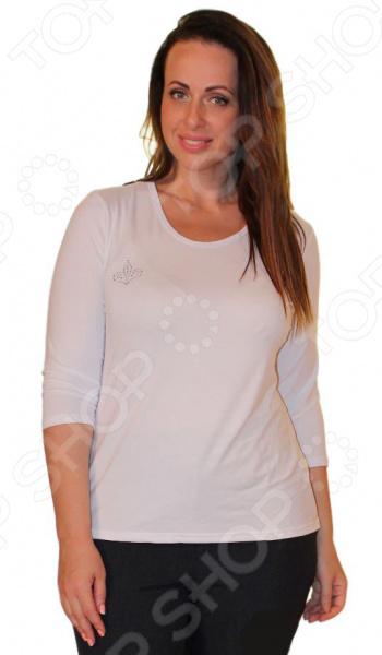 Блуза Матекс «Милка»: 2 шт. Цвет: черный, белыйБлузы. Рубашки<br>Блуза Матекс Милка 2 штуки это легкая и нежная блуза, которая поможет вам создавать невероятные образы, всегда оставаясь женственной и утонченной. Благодаря отличному дизайну она скроет недостатки фигуры и подчеркнет достоинства. Блуза прекрасно смотрится с брюками и юбками, а насыщенный цвет привлекает взгляд. В этой блузе вы будете чувствовать себя блистательно как на работе, так и на вечерней прогулке по городу. Универсальная длина делает блузу одеждой на все случаи жизни, а удобные рукава скрывают полноту рук. Дизайн фасона поможет акцентировать внимание на груди, при этом ретушируя недостатки фигуры. В наборе две однотонные блузки: черная и темно-синяя. Швы обработаны эластичными, текстурированными нитями, благодаря чему вы не будете испытывать неудобств, они не натирают кожу и не растягиваются. Блуза изготовлена из вискозы 95 и полиэстера 5 , благодаря чему материал не скатывается и не линяет после стирки. Вискоза очень быстро высыхает после стирки и не мнется. Даже после длительных стирок и использования эта блуза будет выглядеть идеально.<br>