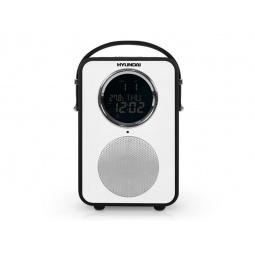 фото Радиобудильник Hyundai H-1624. Цвет: черный. Вид: черная кожа