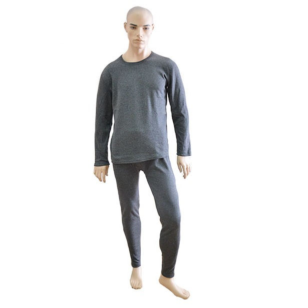 фото Термобелье мужское Burlesco W1. Цвет: серый. Размер: M