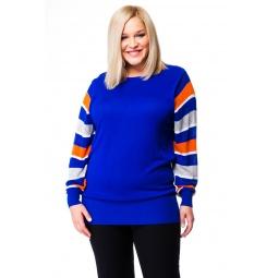 фото Джемпер Mondigo XL 9493. Цвет: темно-синий. Размер одежды: 48