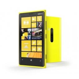 фото Мобильный телефон Nokia Lumia 920. Цвет: желтый