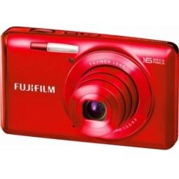 фото Фотокамера цифровая Fujifilm FinePix JX700. Цвет: красный