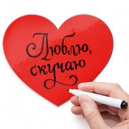 фото Магнит для записей Melompo «Сердце»