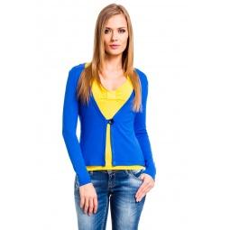 фото Жакет Mondigo 426. Цвет: синий. Размер одежды: 44