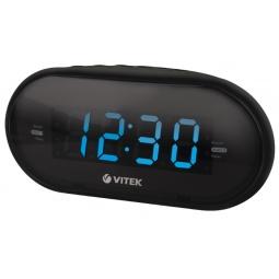 фото Радиочасы Vitek VT-6602. Цвет: черный