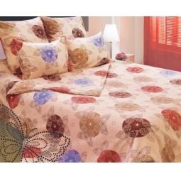фото Комплект постельного белья Сова и Жаворонок «Квадро» 19077/2. Семейный