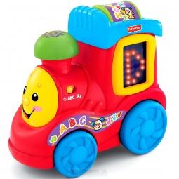 фото Игрушка развивающая Fisher Price Поезд Алфавит. Смейся и учись