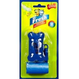 фото Пакеты для уборки фекалий Mr.Fresh с брелоком-держателем