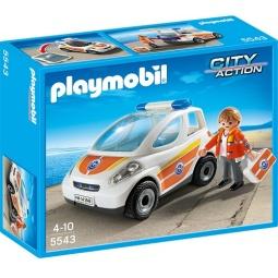 Купить Конструктор игровой Playmobil «Береговая охрана: Машина первой помощи»