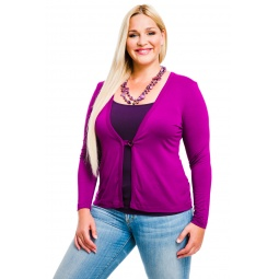 фото Жакет Mondigo XL 426. Цвет: фуксия. Размер одежды: 48