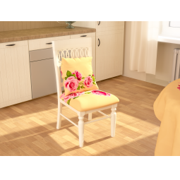 Купить Сидушка на стул «Алла Розы»: 2 шт