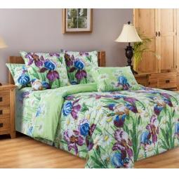 фото Комплект постельного белья Белиссимо «Цветущий сад». 2-спальный. Размер простыни: 220х240 см