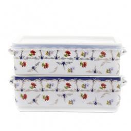Купить Набор блюд для холодца Elan Gallery «Цветочек»