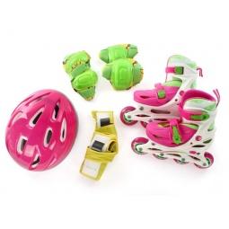фото Роликовые коньки с комплектом защиты и шлемом X-MATCH 64542