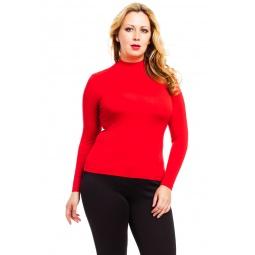фото Водолазка Mondigo XXL 036. Цвет: красный. Размер одежды: 56