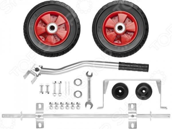 Набор из колеса и рукоятки для электростанций Зубр ЗЭСБ-РК-1 Зубр - артикул: 590036