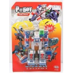 фото Игрушка-трансформер PlaySmart «Робот. Титан 3в1»