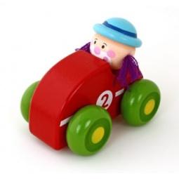 фото Игрушка деревянная Mapacha «Клоун». В ассортименте. Цвет: красный