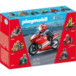 фото Конструктор игровой Playmobil «Коллекция мотоциклов: Супер мотоцикл»