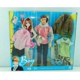 фото Набор игровой с куклой Bon «Кен с гардеробом». В ассортименте