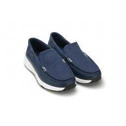 Купить Лоферы парусиновые Walkmaxx. Цвет: синий