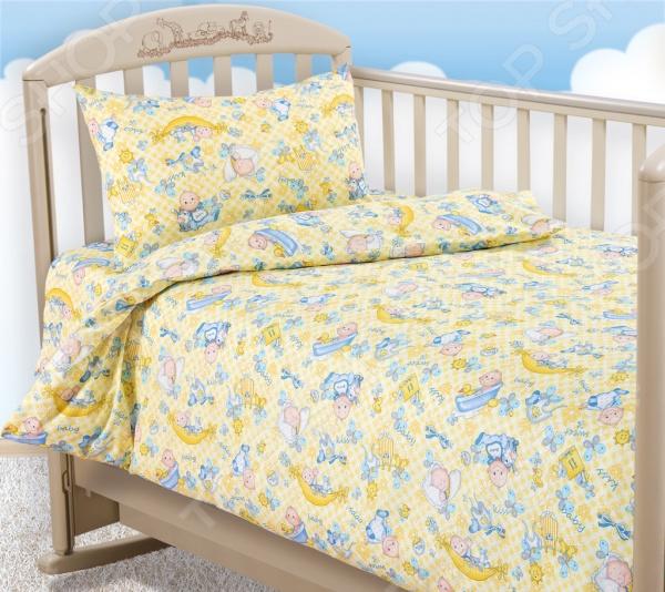 Ясельный комплект постельного белья Бамбино «Карапуз» Бамбино - артикул: 714219