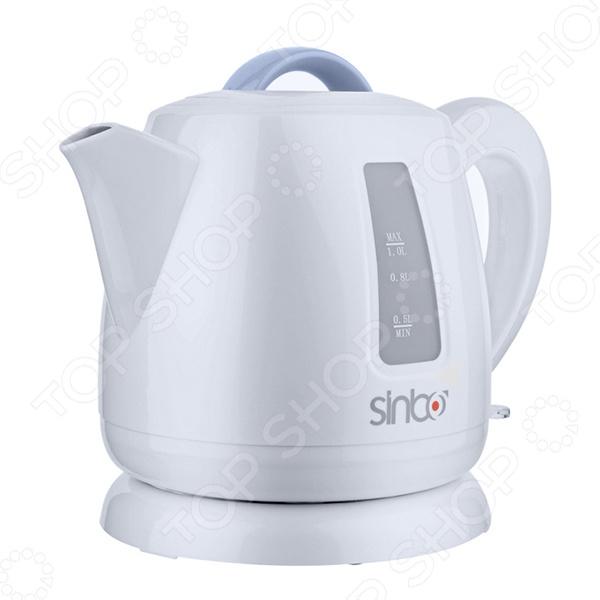 Элегантный чайник Sinbo SK-2359 для ценителей стильной и функциональной бытовой техники. 2000 Вт обеспечат практически моментальный нагрев воды. Удобная база обеспечивает поворот чайника на 360 градусов.