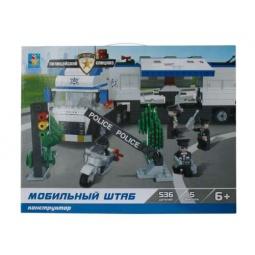 Купить Конструктор игровой 1 Toy «Полицейский спецназ»